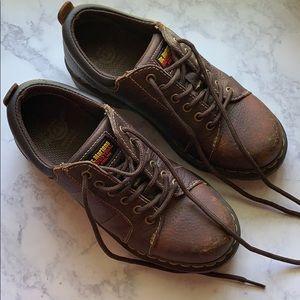 Dr. Martens industrial steel toe boots